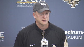 Video: Outgoing head coach to direct UCF football team during Peach Bowl.