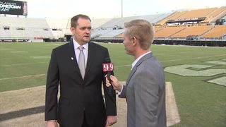 One-on-One with UCF head coach Josh Heupel