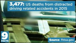 9 Facts: Distracted driving