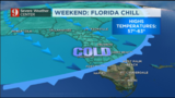 Winter blast arrives by the end of the week to Central Florida