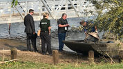 Plane crash in Lake Harney