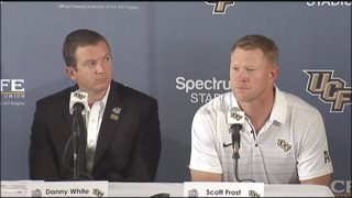 Scott Frost at Tuesday
