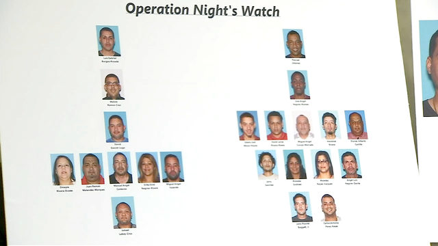 Yearlong operation leads to dozens of arrests in Orange