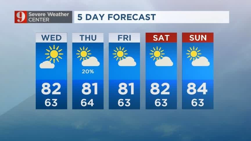 Orlando News Videos WFTV - 5 day forecast atlanta georgia