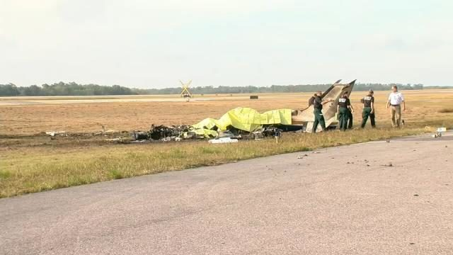 Photos: Several people killed in plane crash at Bartow