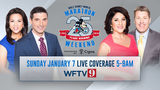 Join Channel 9 anchors Racquel Asa, Brian Shields, Nancy Alvarez and Jamie Holme for LIVE coverage on WFTV Eyewitness News from 5 to 9 a.m. Sunday.