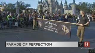 UCF Parade at Disney
