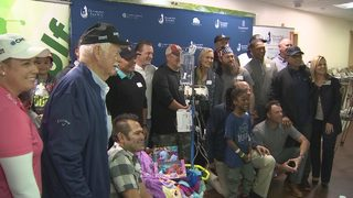 Diamond Resorts Invitational Celebrities Visit Florida Hospital