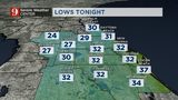 Cold front: Temperatures to plummet to 20s, 30s