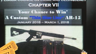 Local group raffles off rifle to benefit children