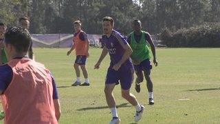 Orlando City training: mixing old and new Lions
