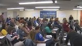 Video: Orange County teachers, fed up with working unpaid hours, plan to 'teach to the contract'