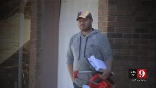 Action 9 confronts contractor accused of not doing work after big deposits