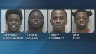 Six arrested at Ocala apartment complex where four people were shot, police say
