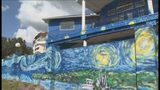 Video: Fines accruing against homeowners with 'Starry Night' mural in Mount Dora