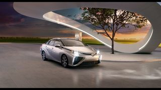 Toyota Mirai a leader in hydrogen fuel cell innovation