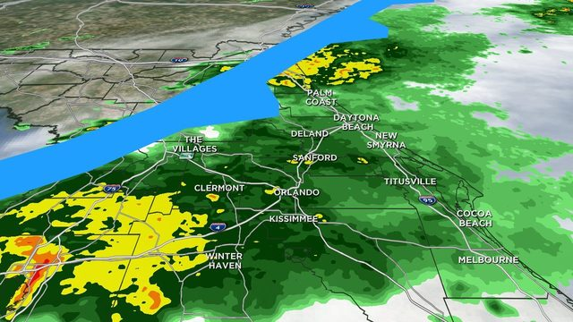 Timing: Showers, wind and slight drop in temperatures