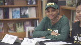 EAST RIVER SIGNING DAY - CAMERON WALTON/MISSOURI SOUTHERN STATE