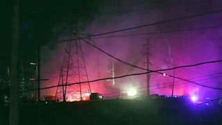 Blackout hits northern Puerto Rico after explosion, fire
