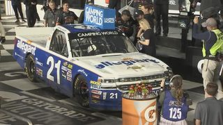 Johnny Sauter wins Truck Race at Daytona