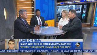 Family who took in Nikolas Cruz: