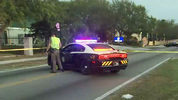 A pregnant woman was hit and killed Wednesday in a crash in Pine Hills, officials said.