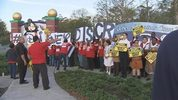 Disney union employees are protesting Thursday about bonuses they said they aren't getting.