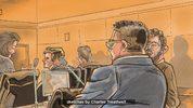 Noor Salman trial sketch of prosecution on day 4