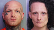 Christopher Taylor and Kristina Sluss was charged in connection with four homicides spanning two states, the Polk County Sheriff's Office said.
