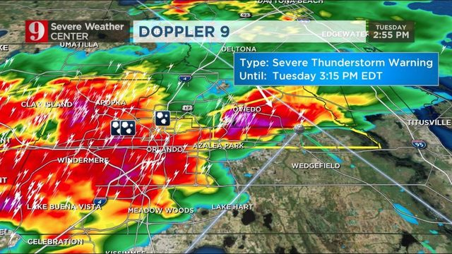 WATCH LIVE: Updates on severe weather in Central Florida