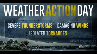 Central Florida: Tornado watch in effect until 7 p.m.