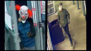 "A man wearing a clown mask and another wearing a ""Jason"" mask robbed an Orange County Chevron gas station Friday morning, deputies said."