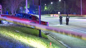 Three people were shot while sitting in a car outside an Orlando Wlagreens, police say.