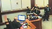 Volusia County deputies suspended for courtroom horseplay.