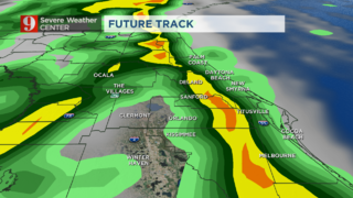 Weekend: Chance for severe weather across Central Florida