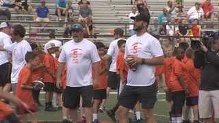 Blake Bortles hosts football camp in Oviedo