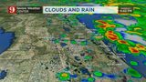 Early evening: numerous showers across Central Florida