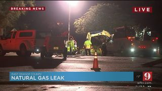 Natural gas leak sends foul odor into east Orange County neighborhood for hours