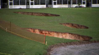 8 homes evacuated after 3 possible sinkholes open in Ocala