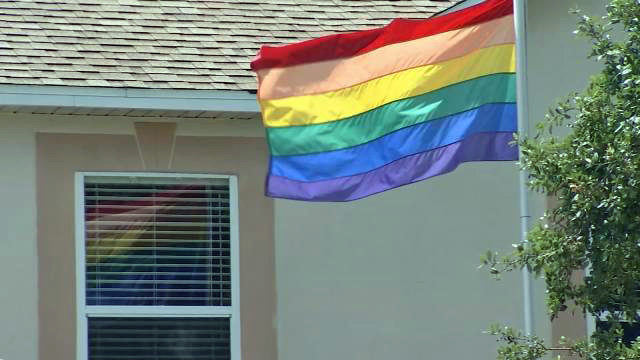 rockledge rainbow flag brevard county hoa wftv wftv