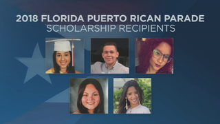 5 students who left Puerto Rico after storm receive scholarships