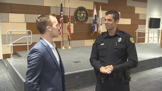 Former Orlando City Goalkeeper now with Orlando Police Department