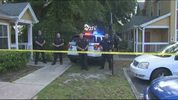 Accused homicide suspect arrested on Jefferson Street in Orlando, police say.