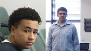 Simeon Hall and Jesse Sutherland face manslaughter charges for the death of Roger Trindade.