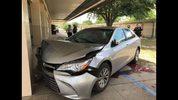Carjacking suspect crashes into Ocala elementary school, police said.