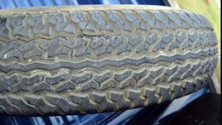 Action 9 investigates dangerous tires