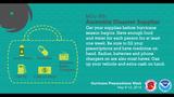 Hurricane preparedness week: Have a disaster kit ready