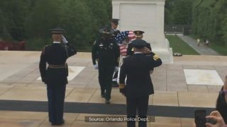 Families of fallen Central Florida law enforcement officers gather in D.C. for candlelight vigil