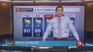 5-Day Forecast - 05/24/18