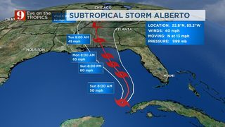 Subtropical Storm Alberto: Gov. Rick Scott declares State of Emergency in Florida